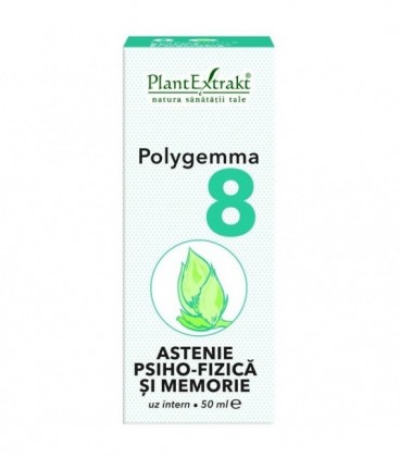 Polygemma 8 - Astenie psiho-fizica, 50 ml