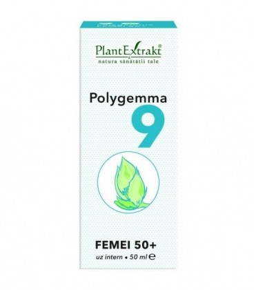 Polygemma 9 - Senior Femei 50+, 50 ml