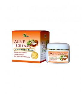 Acne Cream cu extract de Neem, 50 ml