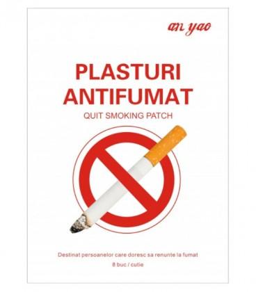 Plasturi Antifumat 8 cm x 8 cm, 8 plasturi
