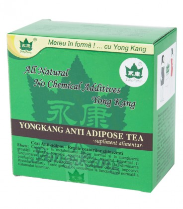 Yong Kang Anti Adipose Tea, 30 plicuri