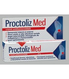 Crema antihemoroidala Proctoliz Med, 25 grame