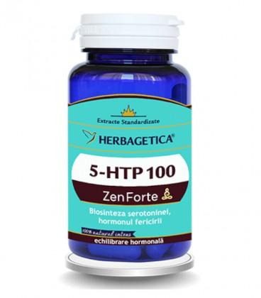 5-HTP 100 Zen Forte, 60 capsule