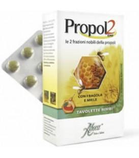 Propol 2 pentru copii, aroma de capsuni, 45 tablete