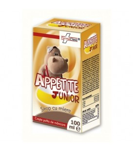 Appetite Junior – Sirop cu miere, 100 ml