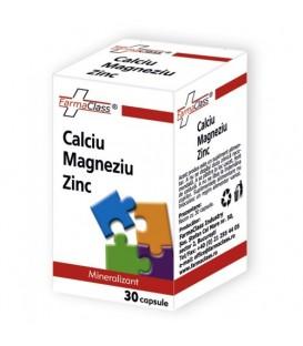 Calciu Magneziu Zinc, 30 capsule
