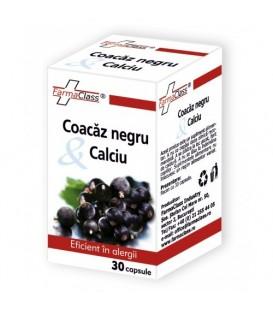 Coacaz negru & Calciu, 30 capsule