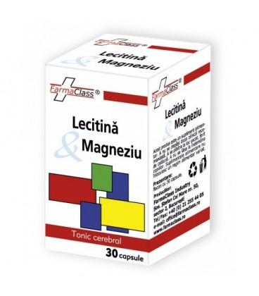 Lecitina Magneziu, 30 capsule
