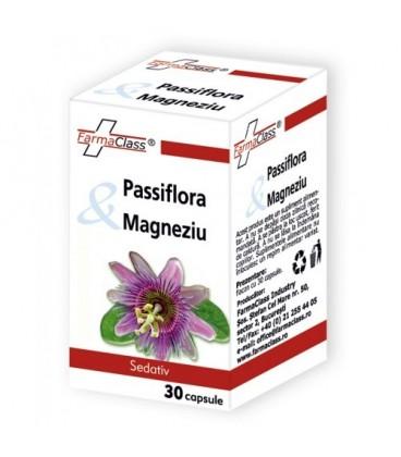 Passiflora Magneziu, 30 capsule