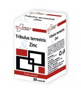 Tribulus terrestris & Zinc, 30 capsule