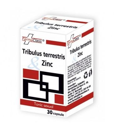 Tribulus terrestris Zinc, 30 capsule