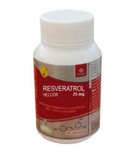 Resveratrol 25 mg, 60 tablete