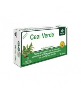 Ceai verde 500 mg, 30 tablete