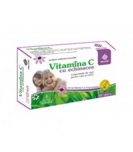 Vitamina C cu echinacea, 30 capsule