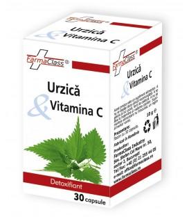 Urzica Vitamina C, 30 capsule