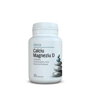Calciu+Magneziu+Vit D 30 CPR