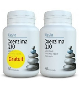 Coenzima Q10 10 mg, 30 tablete (1+1 gratis)