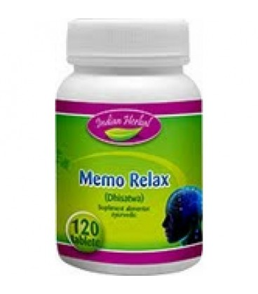 MemoRelax, 120 tablete