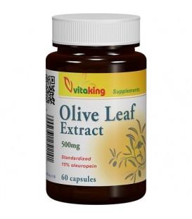 Extract din frunze de maslin (Olive Leaf) 500 mg, 60 capsule