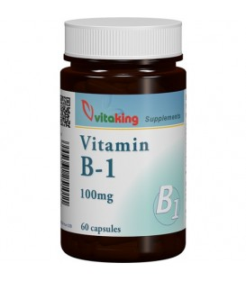 Vitamina B1 100 mg, 60 capsule