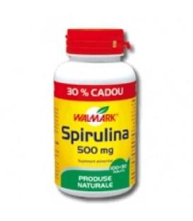 Spirulina 500 mg, 100 + 30 tablete (promotie)