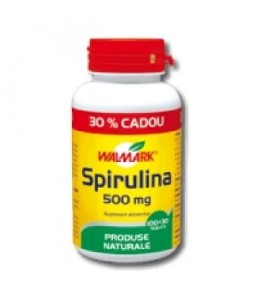 SPIRULINA 100+30 TBL, 500 mg
