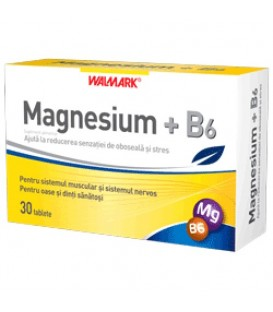 Magnesium + vitamina B6, 30 tablete