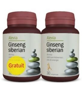 Ginseng Siberian, 30 tablete (1+1 gratis)