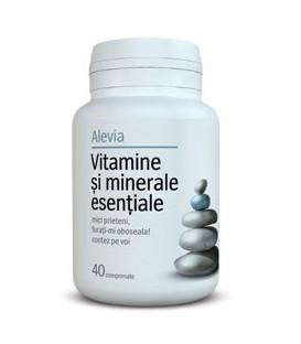 Vitamine si minerale esentiale, 40 tablete