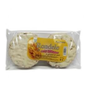 Rondele din grau cu glazura de iaurt, 75 grame