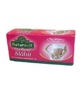 Naturavit - Ceai de slabit, 20 doze