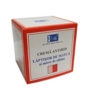 Crema antirid cu laptisor de matca si miere de albine, 50 ml