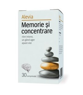 Memorie & Concentrare adulti, 30 tablete