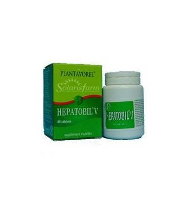 Hepatobil V, 40 tablete