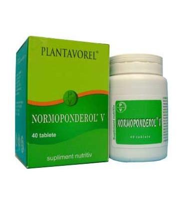 Normoponderol V, 40 tablete