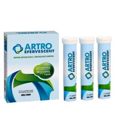 Artro Efervescent, 20 tablete eferverscente