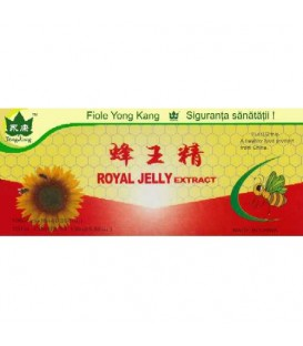 Ginseng & Royal Jelly extract, 10 fiole x 10 ml