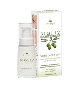 Bioliv – Crema contur ochi (antiaging), 30 ml