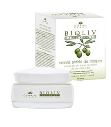 Bioliv Crema Antirid Noapte Antiaging 50 ml