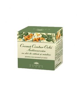 Crema contur ochi anticearcan cu ulei de catina si masline, 30 ml