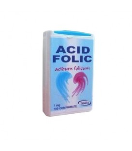 Acid Folic, 1mg, 100 comprimate