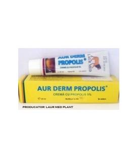Aur Derm crema cu propolis 5%, 30 ml