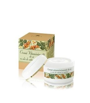 Crema vitaminizanta de zi cu ulei de catina si masline (50 ml)
