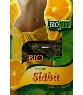 Biovit - Ceai de slabit cu lamaie, 50 grame