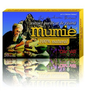 Mumie (extract purificat de rasina), 30 tablete