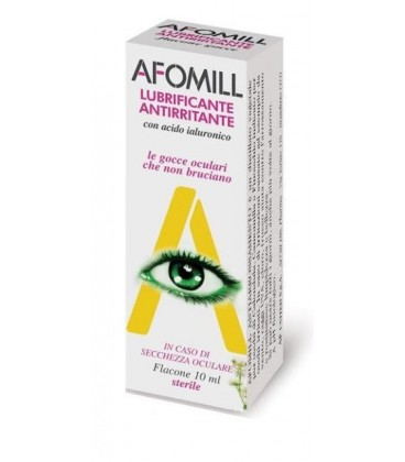 AFOMILL Umectant Lubrifiant 10 ml (galben)