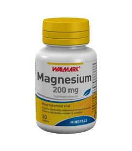 Magnesium 200 mg, 30 tablete