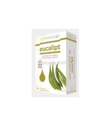 Ulei esential eucalipt, 30 capsule