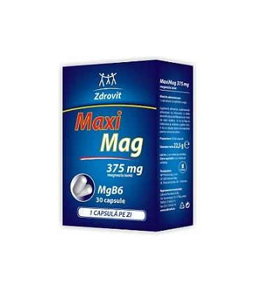 Maximag 375 mg, 30 capsule