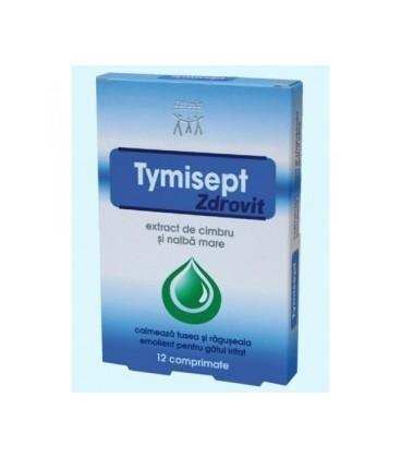 Tymisept , 12 comprimate